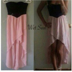 Dresses & Skirts - New Asymmetrical Pink sweetheart Dress
